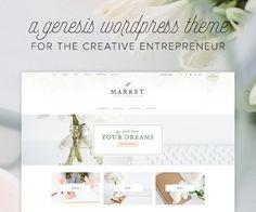 WordPress theme for creative entrepreneurs God Will Provide, Blogging For Beginners, Blogging Ideas, Website Themes, Design Bundles, Lifestyle Blog, Healthy Lifestyle, How To Start A Blog, Wordpress Theme