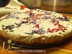 #Cheesecake al #Fiordaliso - Cheesecake with #Cornflowers