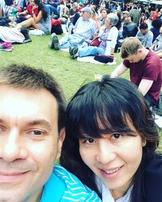 Enjoying a day out chillaxing at the Jazz festival yesterday with hubby