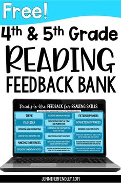 Save time grading give your students effective feedback with this FREE reading skills feedback bank. Copy and paste the feedback into your online learning platform to give your students specific feedback that improves their learning (and saves you time).