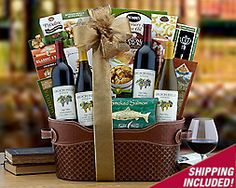 Caymus Napa Valley Cabernet Picnic Collection Gift Basket - Item ...