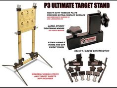 P3 Ultimate Target Stand - YouTube