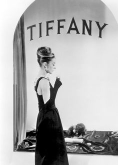 Audrey Hepburn at Tiffany.