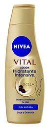 NIVEA Body Milk Vital hidratación intensiva para pieles maduras.