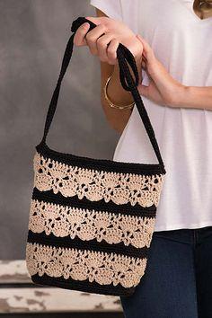 Color-Block Crossbody Bag pattern by Kathy Olivarez
