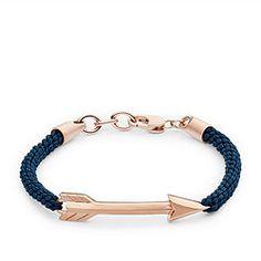 Vintage Casual Rose-Gold Arrow Bracelet