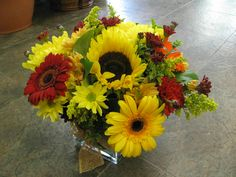 fall arrangement perfect for any home or office!