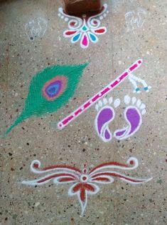 Beautiful Rangoli Designs, Kolam Designs, Latest Rangoli, Simple Rangoli, Blouses, Kids Rugs, Decorations, Home Decor, Decoration Home