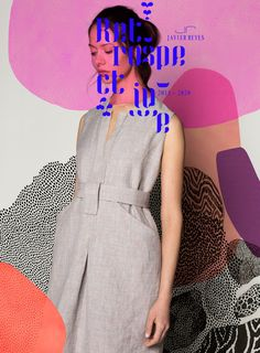 Retrospektiven Mode Logos, Illustrator, Fashion Designer, Design Studio, Elegant, Spring, Peplum Dress, Amazing, Dresses
