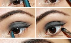 smoky eyes. love it :X