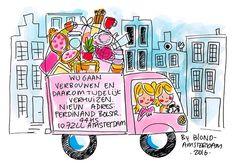 Wij gaan verbouwen en daarom tijdelijk verhuizen. - Blond Amsterdam 2016