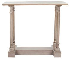 One Kings Lane - Labor Day Blowout Sale - Alexander Console, Taupe