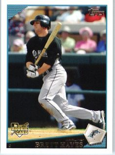 2009 Topps Update #UH102 Brett Hayes (RC) - Florida Marlins (RC - Rookie Card) (Baseball Cards) by Topps Update. $0.88. 2009 Topps Update #UH102 Brett Hayes (RC) - Florida Marlins (RC - Rookie Card) (Baseball Cards)