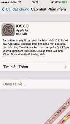 Chính thức tải về IOS 8.0 Cho các thiết bị của Apple ! | Diễn đàn công nghệ phần mềm thủ thuật