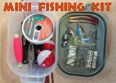 Examples of a diy survival fishing kit for your bug out bag which includes 9 basic items. Several Mini Fishing Kit Examples and Lots of Pictures. Survival Quotes, Survival Food, Survival Prepping, Emergency Preparedness, Survival Skills, Doomsday Prepping, Water Survival, Emergency Preparation, Survival Weapons