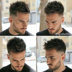 #HairMenStyle: @agusbarber_ ✂️| SnapChat: HairMenStyle