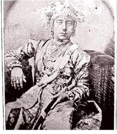 The original picture of Jhansi ki Rani Laxmi Bai. This picture was been  taken by the German photographer Hoffman 160 years ago.