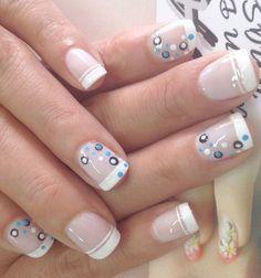 fun nail art videos For Kidsfun nail art designs Polka Dots Pretty Nail Art, Cute Nail Art, Best Nail Art Designs, Acrylic Nail Designs, Get Nails, Hair And Nails, Art Deco Nails, Vacation Nails, Finger