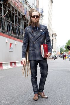man in suit with dreads - Google Search