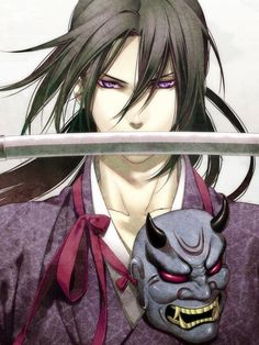 Toshizo Hijikata----> Yay I used this as my google theme.... this pic of him is so cool