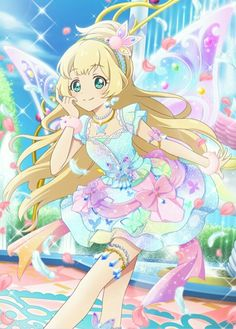 Hime The fairy White girl