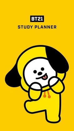 Kawaii Wallpaper, Bts Wallpaper, Bts Billboard, Study Planner, Kpop Drawings, Bts Chibi, Line Friends, Cute Cartoon Wallpapers, Bts Group