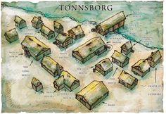 Fantasy Maps by Robert Lazzaretti (Tonnsborg)