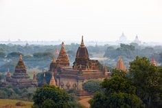 Bicycling in Myanmar's Bagan, the site of more than 2,000 ancient temples and approximately zero tourists