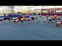 Fun with core conditioning! Gymnastics Games, Gymnastics Lessons, Gymnastics Academy, All About Gymnastics, Gymnastics Tricks, Tumbling Gymnastics, Gymnastics Coaching, Gymnastics Workout, Olympic Gymnastics
