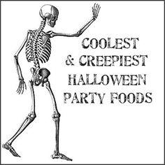 Dishfunctional Designs: Coolest  Creepiest Halloween Foods