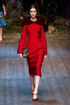 Milan Fall 2014 - Dolce & Gabbana