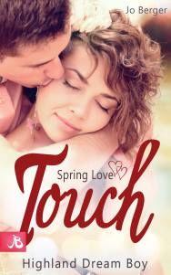 Cover:Spring Love Touch - Highland Dream Boy von Jo Berger