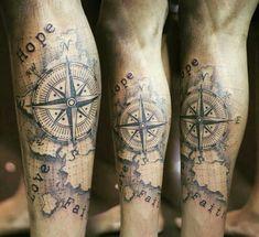 × - New Tattoo Models Map Tattoos, Forearm Tattoos, Rose Tattoos, Body Art Tattoos, Calf Sleeve Tattoo, Shoulder Tattoo, Trendy Tattoos, Tattoos For Guys, Kamera Tattoos