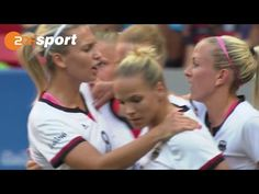 Deutschland im Viertelfinale | Frauenfußball | ZDF – Olympia Rio2016 - YouTube