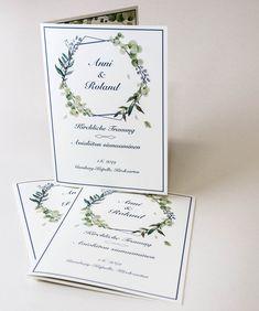 Ihanat luontoteemaiset taitetut kortit, joissa materiaalina käytettiin 240 grammaista Scandia Ivory kartonkia #painopirttioy #wedding #hääkutsu #kutsukortti #letterpress #invitation #kesähäät #foilprinting