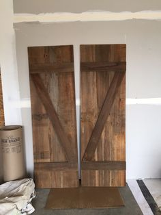 Barn Doors for the pantry
