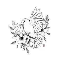 Bird Drawings, Pencil Art Drawings, Cool Art Drawings, Art Drawings Sketches, Tattoo Sketches, Tattoo Drawings, Drawing Birds, Drawing Eyes, Sommer Tattoo