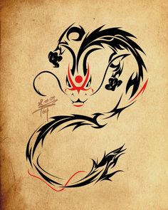 - kabuki dragon tattoo - by ~slawomiro on deviantART