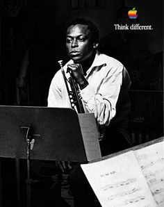 """You have to play a long time before you sound like yourself."" -- Miles Davis"