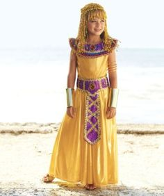 Cleopatra Girls Costume   Only At Chasing Fireflies   For Your Lovely Queen  Of Ancient Egypt, Nothing Less Than A Gown Of Gold Liquid Lamé.