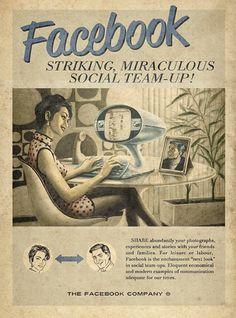 Facebook ad 60's