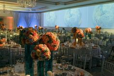 Flowers: Montano Grant   Photography: Robert George Photography   Wedding Planner: Cosmopolitan Events