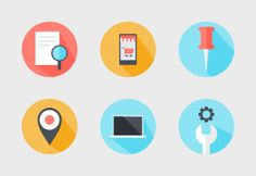 Starting an online business and looking for modern icons? Check out this set.