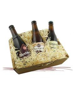 Cesto Barnabiti: confezione regalo di birre trappiste belghe.
