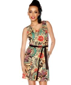$87 Summer Pin Up Dresses! Get 25% off today! Promo Code PINUP! Misses and Plus Size Summer Pin Up Dresses!