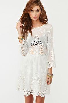 So beautiful #whitedress #loveit