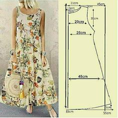 Sewing Clothes Women, Diy Clothes, Dress Sewing Patterns, Clothing Patterns, Costura Fashion, Fancy Kurti, Tartan Dress, Diy Dress, Fashion Sewing