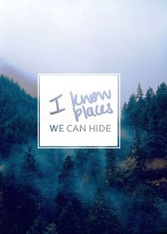 """I know places we can hide."" - Taylor Swift 'I Know Places' song lyrics quote Taylor Lyrics, Taylor Swift Quotes, Taylor Alison Swift, Taylor Swfit, Taylor Songs, This Love Lyrics, My Love, Solas Dragon Age, Song Quotes"