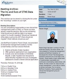 The Ins and Outs of CTMS Data Migration