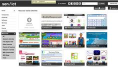 Awesome - one stop shopping for lots of switch accessible websites with games and activities!